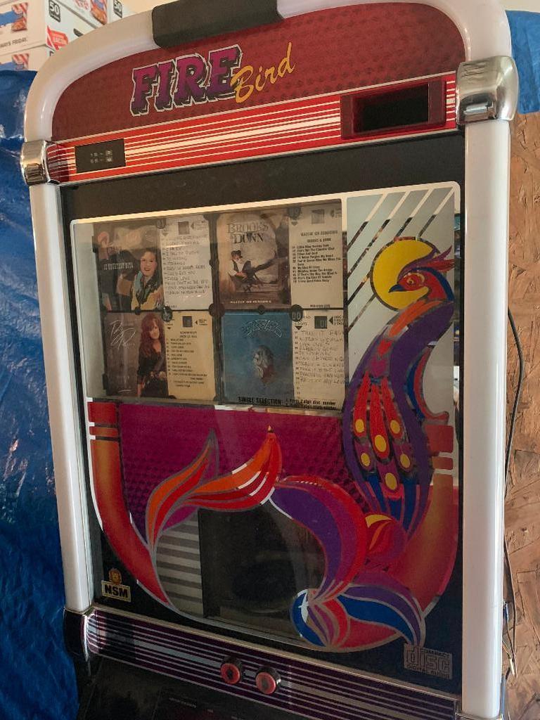 NSM Firebird Jukebox