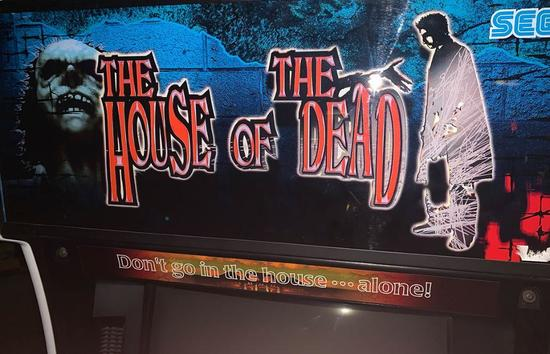 The House of the Dead Full Size Arcade Shooting Game