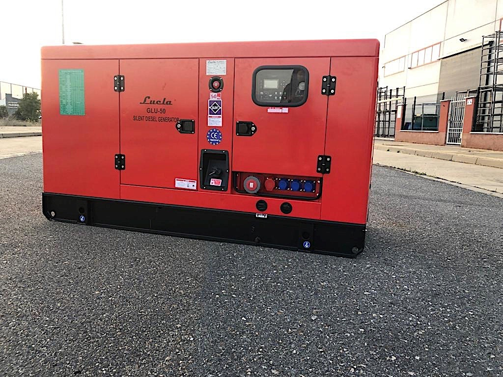 "GRUPO ELECTROGENO LUCLA GLU-50 50KVAS(40KW), NUEVO, A""O 2019, CON CERTIFICADO CE"