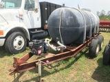 1,000 Gallon Nurse Tank with Pump