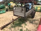 Miller Bobcat 225G Welder On Trailer