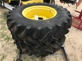 (2) Tires & Rims