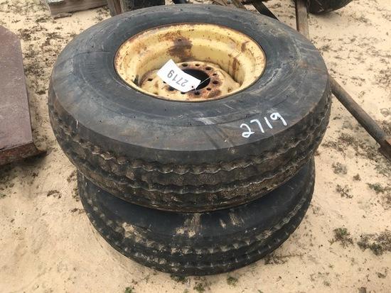 (2) 11L-15SL Tires