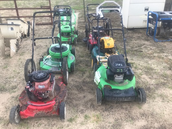 (6) Push Mowers