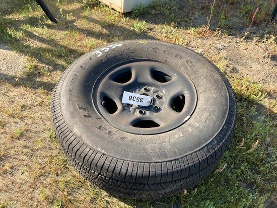 265/75/R16 Tire & Rim