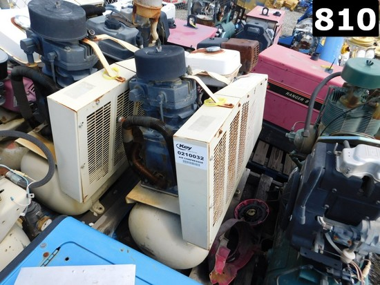 (0210032) IR MODEL TS7 AIR COMPRESSOR W/ VOLUME TANK (11293897) LOCATED IN