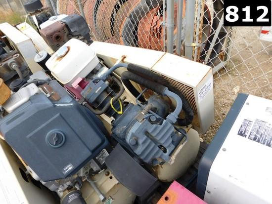 (0210031) IR MODEL 1WD74 P/B HONDA GAS ENGINE W/ VOLUME TANK (11293899) LOC