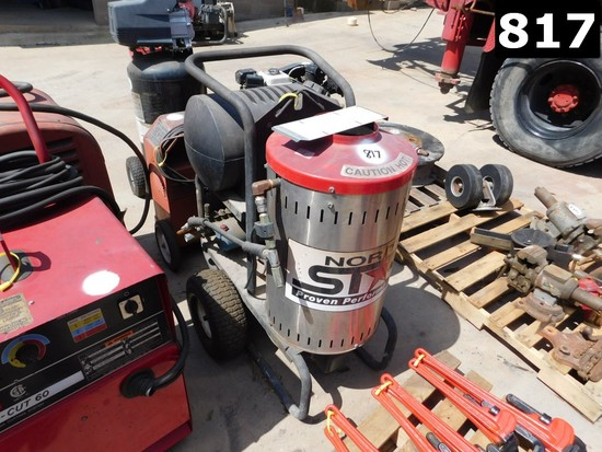 NORTHSTAR PORTABLE DIESEL STEAM/ POWER WASHER (11293546) LOCATED IN YARD 3