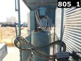 AIR COMPRESSOR P/B ELECTRIC MOTOR W/ 80 GAL VOLUME TANK MTD ON COVERED SKID