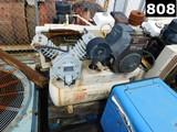 (0210056) IR MODEL 2475F11G AIR COMPRESSOR P/B KOHLER 12.5 GAS ENGINE W/ VO