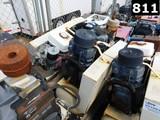 IR MODEL TS7 AIR COMPRESSOR W/ VOLUME TANK (11293898) LOCATED IN YARD 5 - T