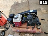 TAHOE AIR COMPRESSOR P/B HONDA GX200 GAS ENGINE (11293549) LOCATED IN YARD
