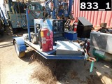 (X) (0210035) MILLER BOBCAT 250 GAS WELDING MACHINE MTD ON S/A SHOPBUILT TR
