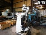 (3981) JET JTM-4VS TURRETT MILLING MACHINE S/N 71111000 LOCATED IN YARD 9 -