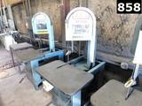 (3988) (1) ROLLIN VERTICAL BAND SAW LOCATED IN YARD 9 - ODESSA, TX  -    AL