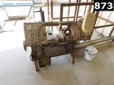 WELLSAW MODEL 58B FLOOR BAND SAW (11293602) LOCATED IN YARD 5 - TAFT, CA  -