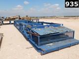 8'W X 40'L HYDRAULIC PIPE BASKET W/ JUNK BOX (11293359)  LOCATED IN YARD 2