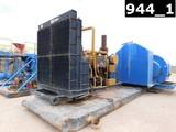MAXUM M-1600 TRIPLEX MUD PUMP, 1600HP PULSATION DAMPENER, P/B CAT 3512 DIES