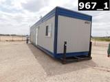 ATCO 10'W X 40'L TOOL PUSHER HOUSE W/ KITCHEN, BEDROOM, BATHROOM, SHOWER, O