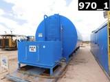 10'DIA X 40'L 500BBL WATER TANK W/ 9'L PORCH W/ (4) COMP LUBESTER, SKIDDED