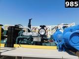 DETROIT S- 60 DIESEL ENGINE RADIATOR, ELEC START, GAUGES, ALLISON CLBT-5960