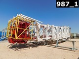 CABOT 127'H X 550000# SHL SCOPING MAST, STANDPIPE, ROTARY HOSE, HYD LINES,