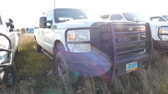 2014 Ford F-250 Pickup Truck, VIN # 1FT7W2B66EEB66558