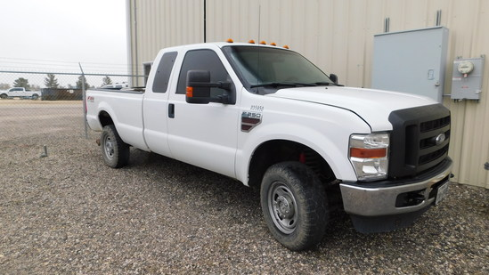 2010 Ford F-250 Pickup Truck, VIN # 1FTSX2BR0AEA35850