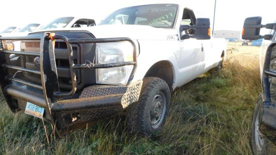 2011 Ford F-250 Pickup Truck, VIN # 1FT7W2B62BED04477