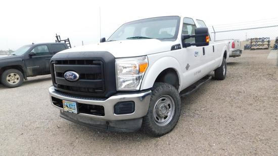 2012 Ford F-250 Pickup Truck, VIN # 1FT7W2BT9CEA58745