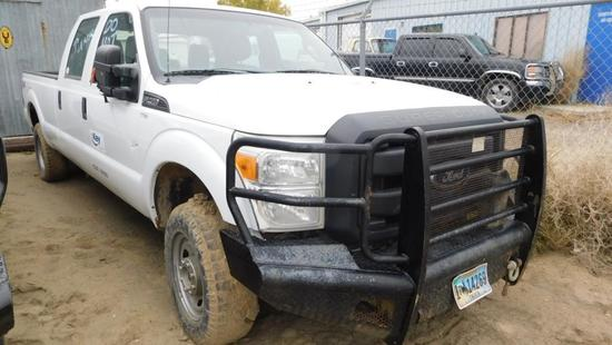 2012 Ford F-250 Pickup Truck, VIN # 1FT7W2B60CEC11989