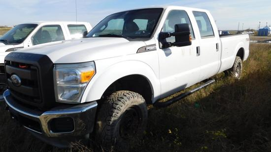 2012 Ford F-250 Pickup Truck, VIN # 1FT7W2B61CEA50407