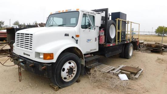 (1481578) 2000 INTERNATIONAL 4700 MEDIUM DUTY TRUCK, VIN- 1HTSCAAM11H381578, P/B DT466E DIESEL