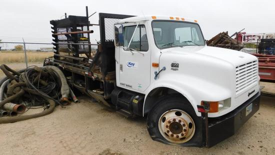 (1478521) 2000 INTERNATIONAL 4700 MEDIUM DUTY TRUCK, VIN- 1HSCABM4YH278521, P/B T444E DIESEL ENGINE,