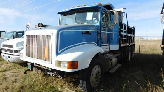 (0117355) (X) 1994 INTERNATIONAL 9200 T/A DUMP TRUCK, VIN- 2H6FMAER8SC017355, P/B DETRIOT S-60