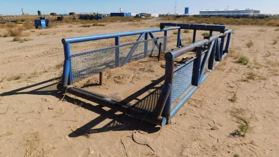 "(0220255) 22'X8'X42"" TOOL SKID *LOCATED IN YARD 6 - 26 RD 3720 FARMINGTON, NM 87401 CONTACT HOMERO"