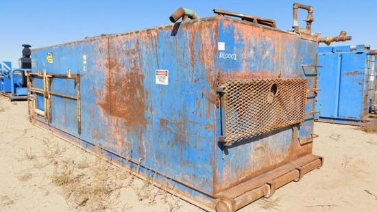 (1020002) 24' X 8' X6' 3 COMP STEEL MUD PIT *LOCATED AT YARD 6 - 26 RD 3720 FARMINGTON, NM 87401