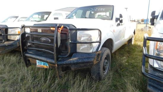 2012 Ford F-250 Pickup Truck, VIN # 1FT7W2B60CEB42544
