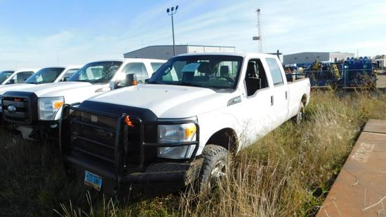 2012 Ford F-250 Pickup Truck, VIN # 1ft7w2b68cec12002