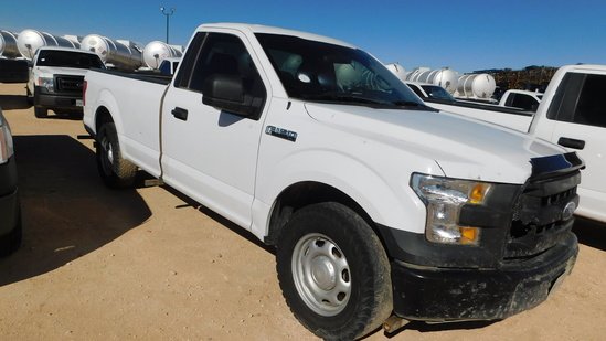 (X) 2016 FORD XL F150 PICKUP, VIN- 1FTNFXGKF55966, P/B FORD V8 GAS ENGINE,