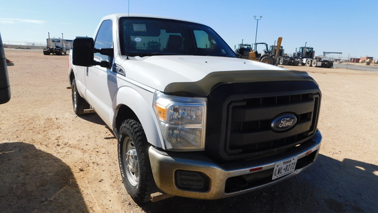 (X) 2014 FORD F250 SUPER DUTY, SGL CAB, LONG BED PICK UP, VIN- 1FTBF2A64EEB