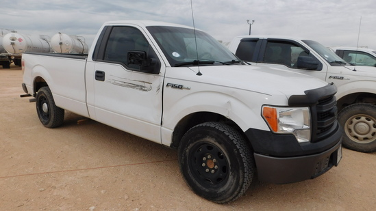 (X) 2014 FORD F150, VIN- 1FTPF1CF1EKD53880 (270) *TTL WILL BE COLLECTED AT