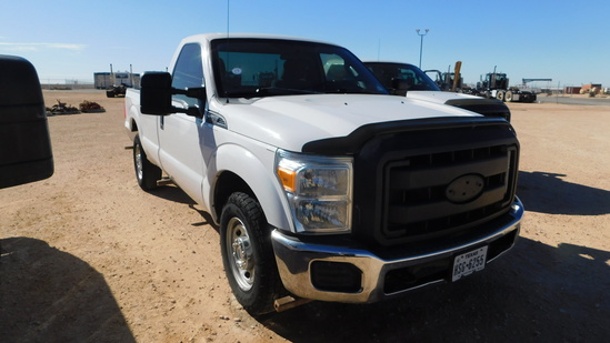 (X) 2013 FORD F250 SUPER DUTY, REG CAB, LONG BED, VIN- 1FTBF2A63DEB91265, P
