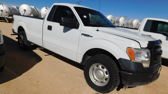 (X) 2013 FORD F150 XL REG CAB, LONG BED, PICK UP, VIN- 1FTPF1CF1DKF43078, P