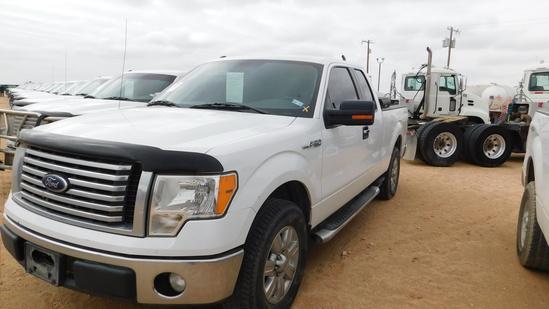 (X) 2012 FORD F150 XLT EXT CAB PICKUP, VIN- 1FTFX1CF4CFC33277, P/B TRITON V
