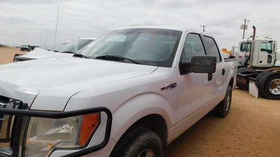 (X) (3470) 2011 FORD F150 XLT CREW CAB 4X4 PICKUP, VIN- 1FTFW1EF8BKD67733,