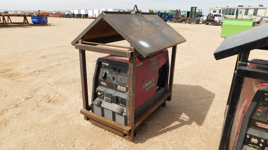 (9423) LINCOLN ELECTRIC 225 RANGER GAS POWERED WELDING MACHINE W/ COVERED S