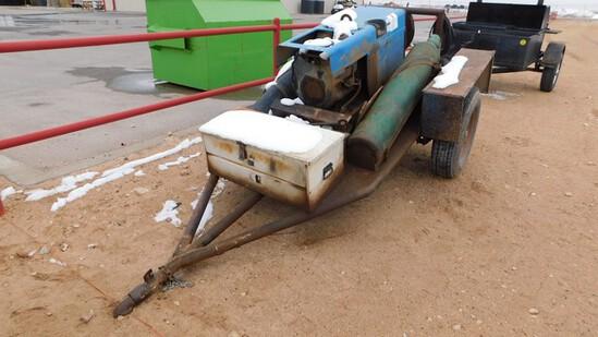 Located in YARD 1 - Midland, TX (1687) BOBCAT 250 CC/CV-AC/DC GAS WELDER 10000 W