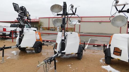 Located in YARD 1 - Midland, TX (6276) 2018 GENERAC, MODEL ML 65K-STD3 PORTABLE