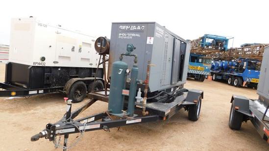 Located in YARD 1 - Midland, TX (2937) 2013 GENERAC INDUSTRIAL POWER 130 KW INDU